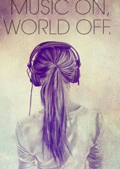 Music On World Off Music Wallpaper Music Quotes Music Is My Escape Images, Photos, Reviews