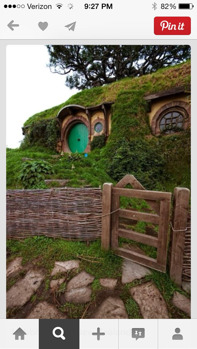 Hobbit house Hobbit house, The hobbit, Places