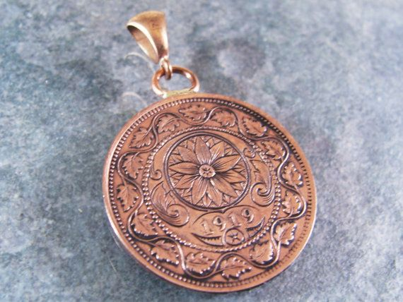 Hand Engraved Coin Pendant Medallion | Hand Engraving | Hand