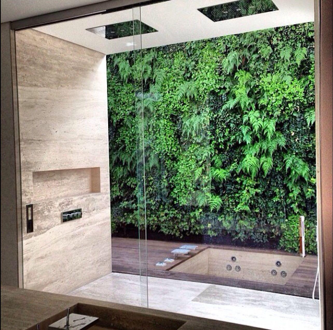 outdoor shower haute guide to residential interiors pinterest badezimmer bad und baden. Black Bedroom Furniture Sets. Home Design Ideas