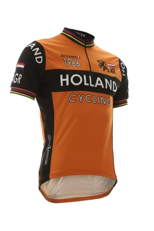 Retro Cycling Jersey Holland Cycling Jersey Design Cycling