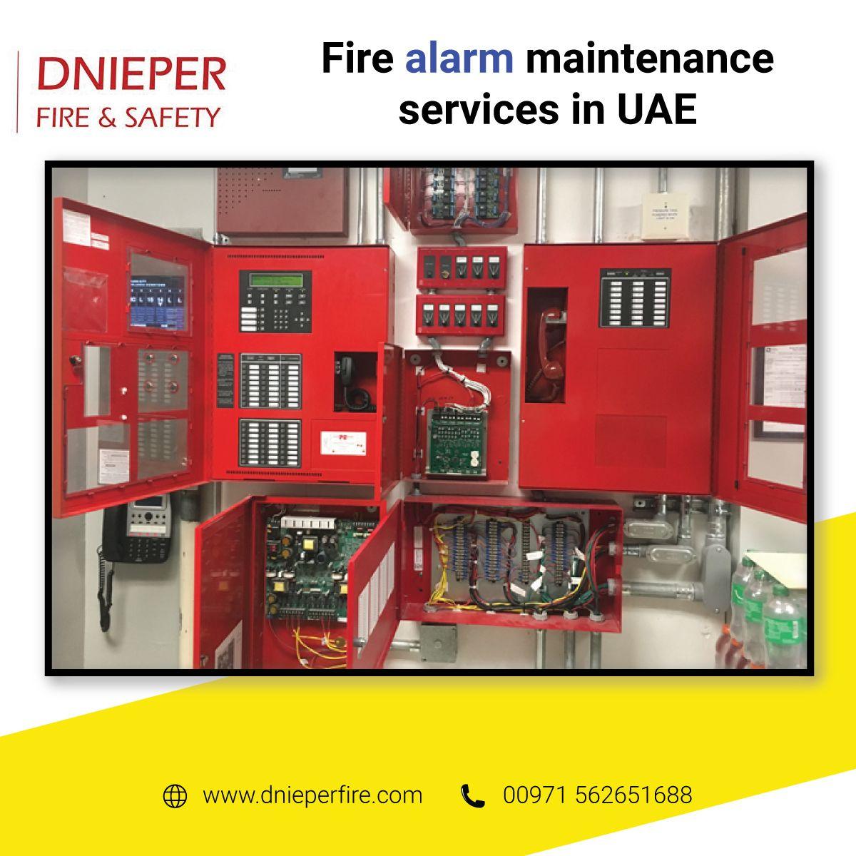 Fire Alarm Maintenance Services in UAE in 2020 Fire