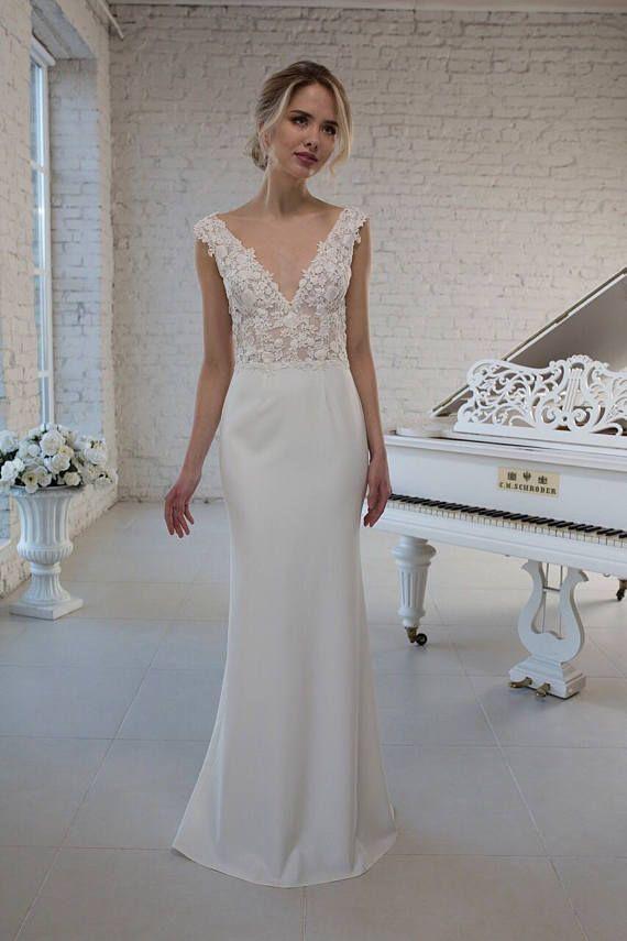 Wedding dress wedding gown detachable Flounce skirt removable ...