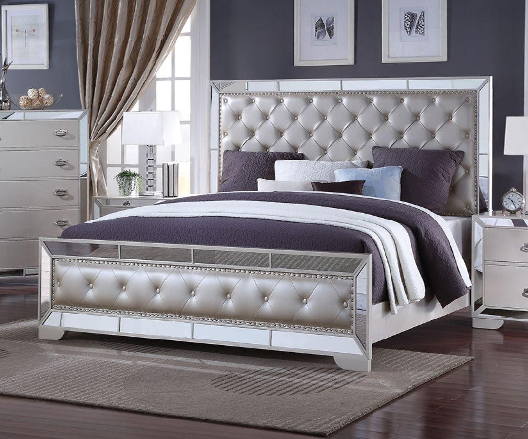 Gloria Cream Queen Bed Beautiful Bedroom Decor Bed King Beds