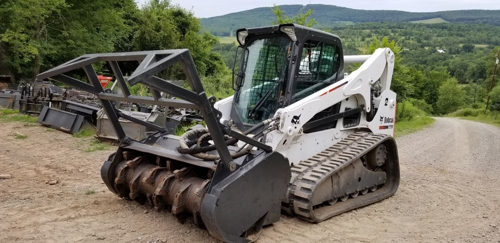 Details About Bobcat E60 Excavator Fully Loaded Long Arm Hydraulic