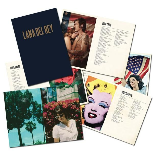 Lana Del Rey Lyric Book Journal Lana Del Rey Lana Del Lana Del Rey Lyrics