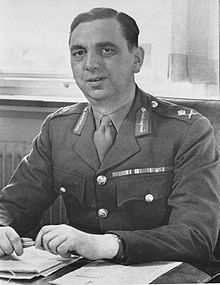 Major General Kenneth Strong. In March 1943, Strong was appointed Assistant Chief of Staff for Intelligence (G-2) at General Dwight Eisenhower's Allied Force Headquarters (AFHQ).