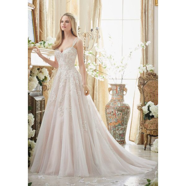 186cf3d6cd Elaborately Beaded Embroidery on Tulle Ball Gown