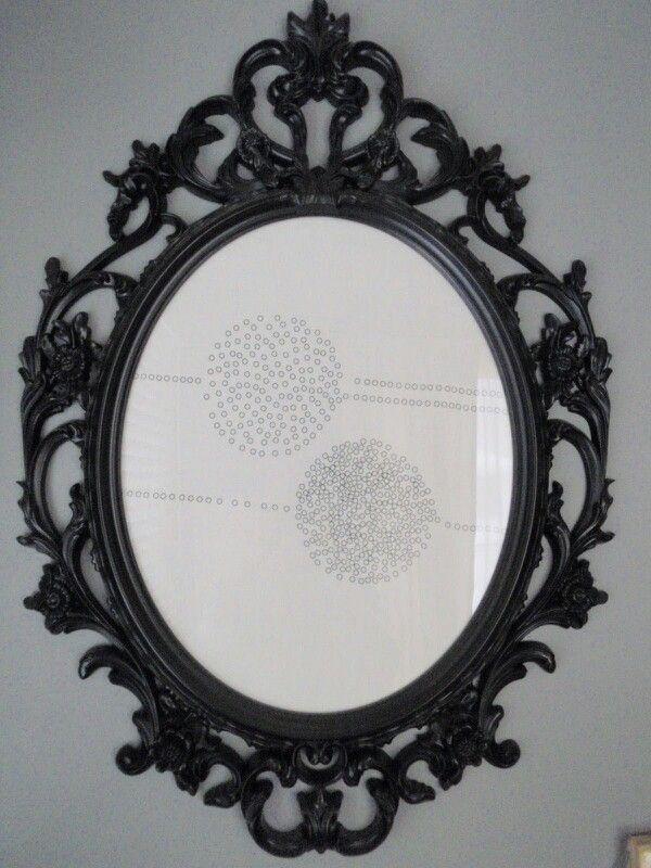 Black Ornate Frame | Frames | Pinterest
