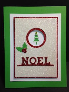 Hang Your Stocking Thinlits Die, Christmas Card, Stampin' Up!, Rubber Stamping, Handmade Cards