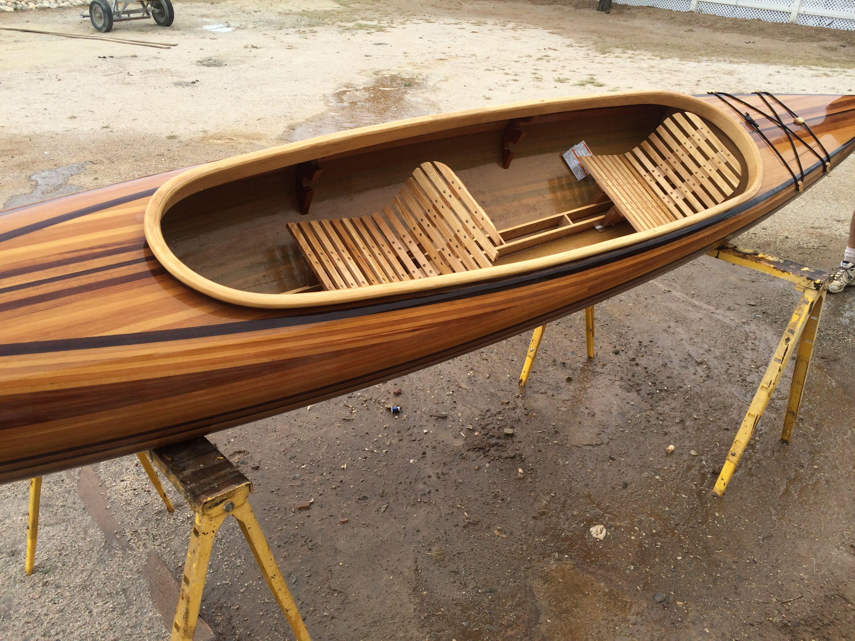 Skin on frame kayak plans - Explore Kayaks For Sale Custom Wood And More