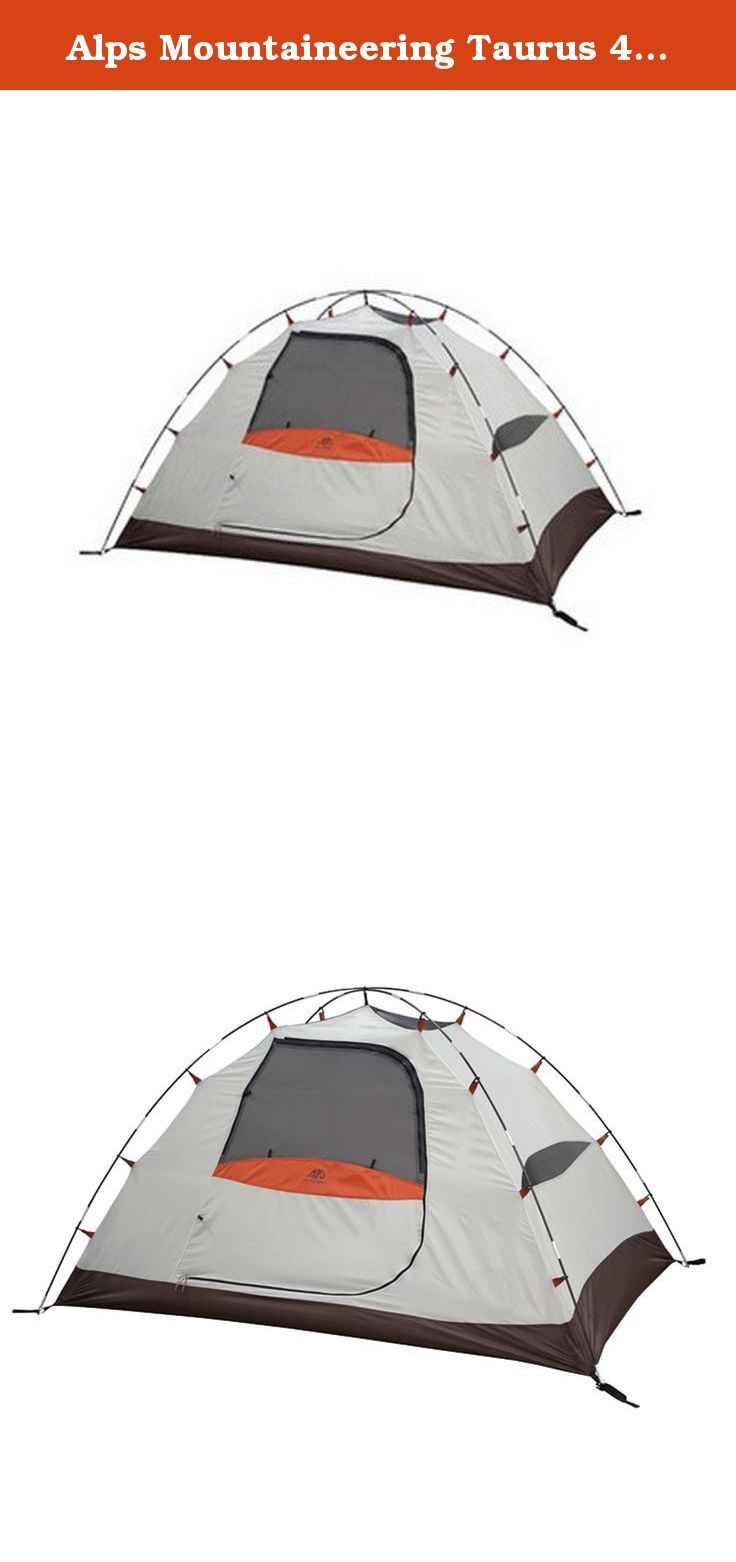 Alps Mountaineering Taurus 4 Sage/Rust. The Alps Taurus 4 is a 4 person  sc 1 st  Pinterest & Alps Mountaineering Taurus 4 Sage/Rust. The Alps Taurus 4 is a 4 ...