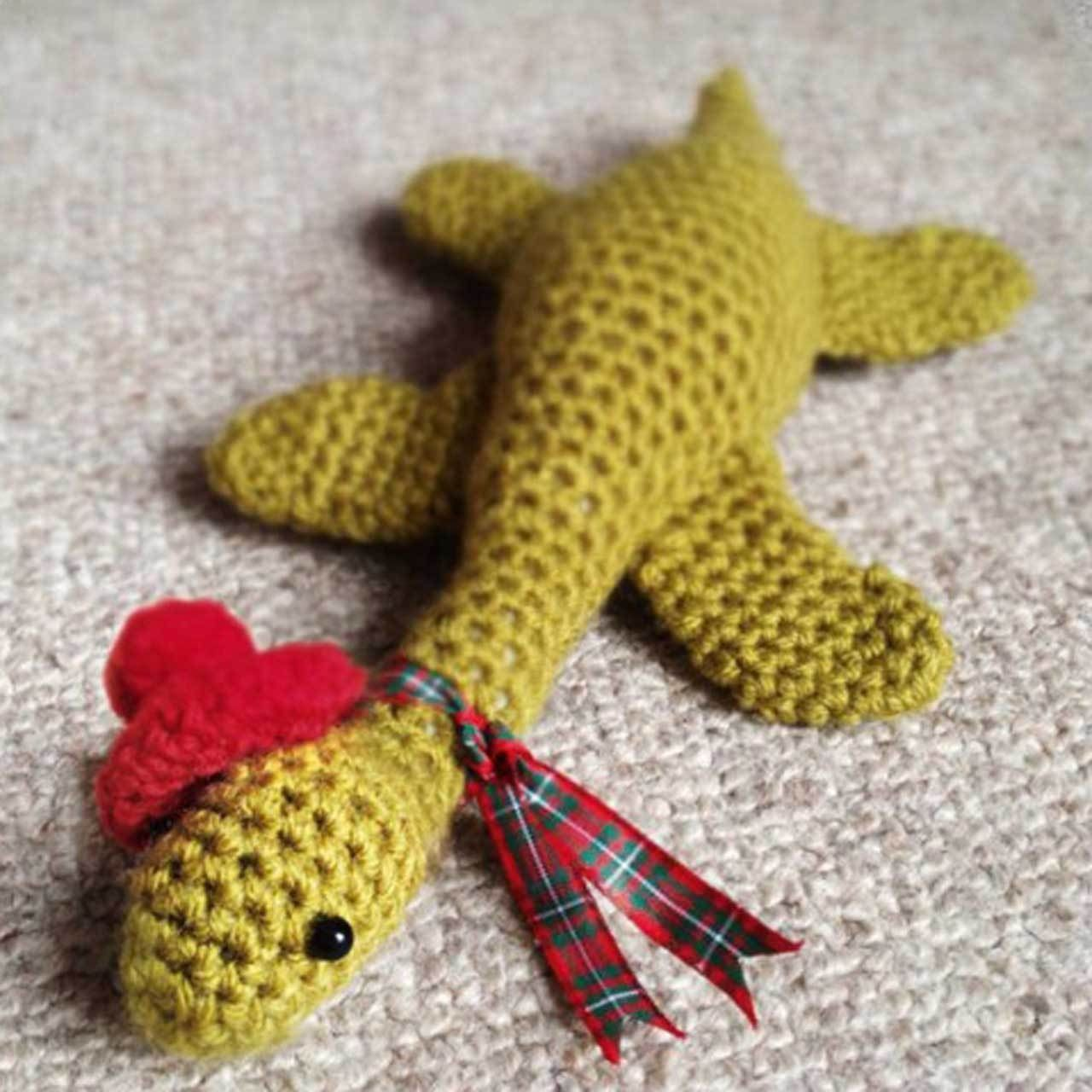 Learn how to crochet your very own amigurumi Loch Ness Monster ...