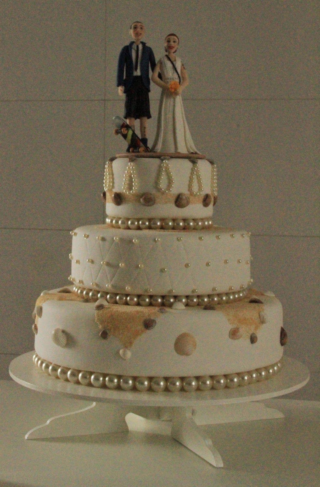 Cassia Romano: Topo de Bolo para casamento