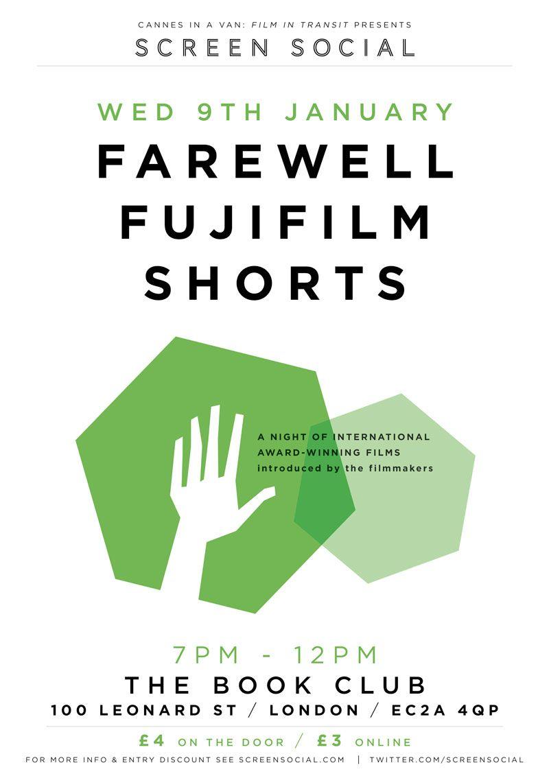 Screen Social: Farewell FujiFilm Shorts