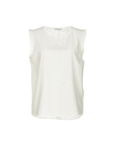 40WEFT Women's Blouse Ivory M INT