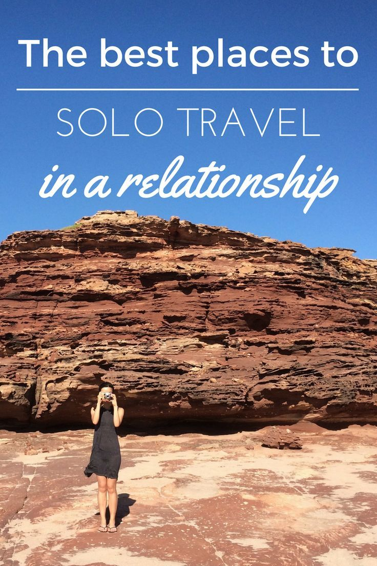 Places to travel alone men