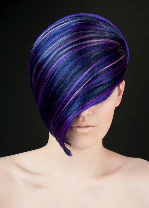 Love The Colors Purple Hair