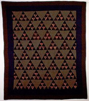 Mennonite Thousand Pyramids Quilt