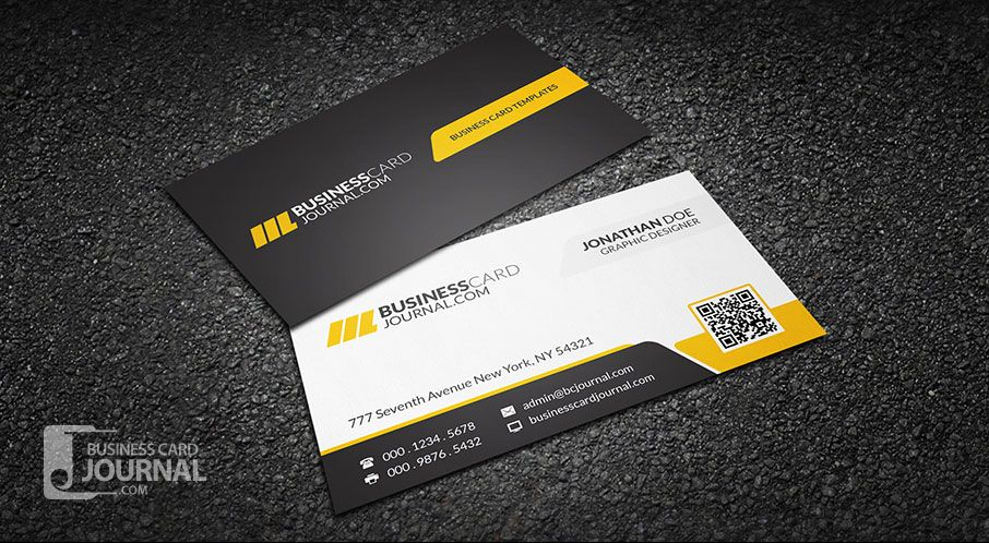 Download http businesscardjournalcom corporate for Professional business card templates free download