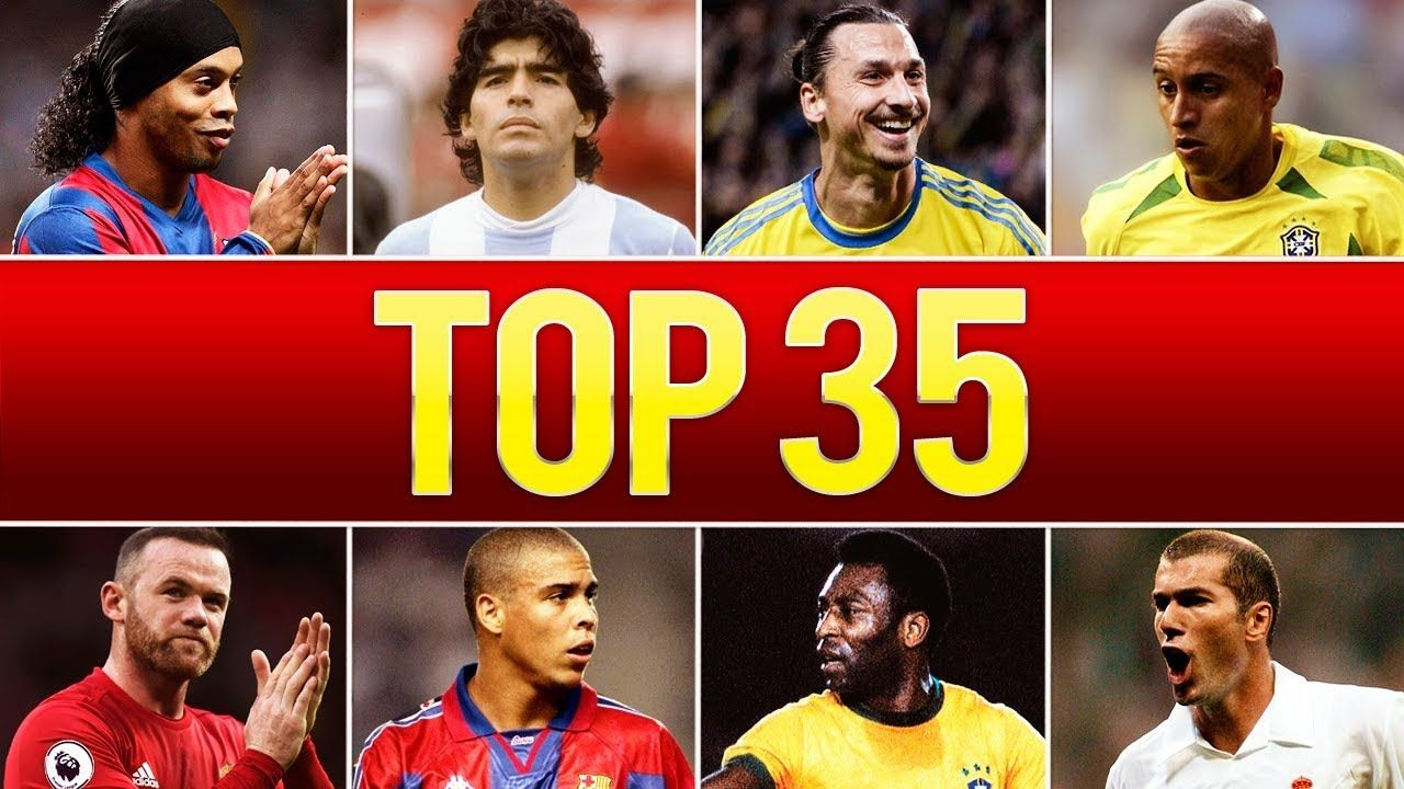 Top 35 Legendary Goals In Football History YouTube