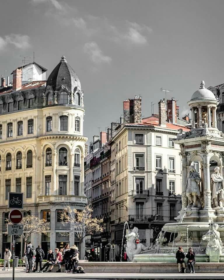 Place Des Jacobins Photos De Lyon Hotel Dieu Vieux Lyon