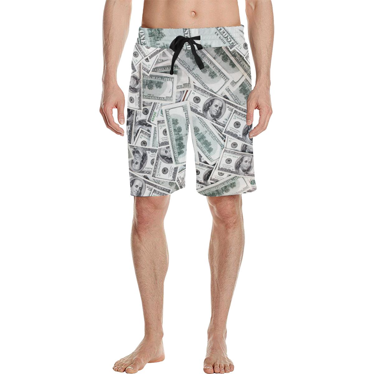 002726560c Cash Money / Hundred Dollar Bills Men's All Over Print Casual Shorts by  #Gravityx9 at #Artsadd * mens swimshorts * swimming trunks * swimming  shorts ...