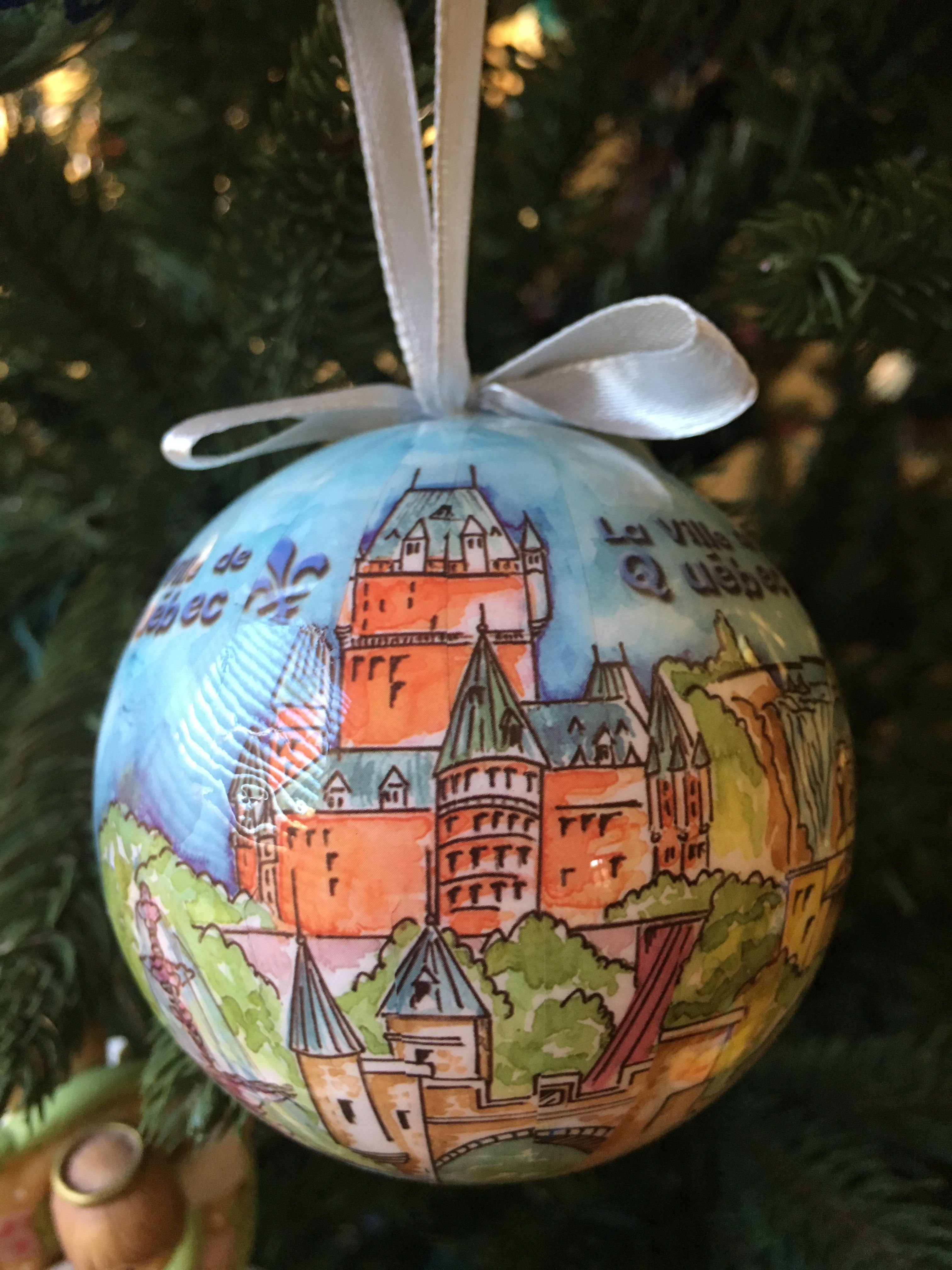 Quebec,canada (With images) Christmas ornaments