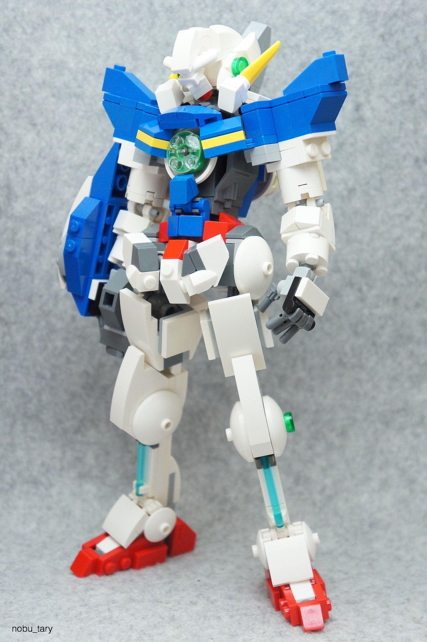 Gundam Exia | LEGO mecha and exo suits | Lego mechs, Gundam exia