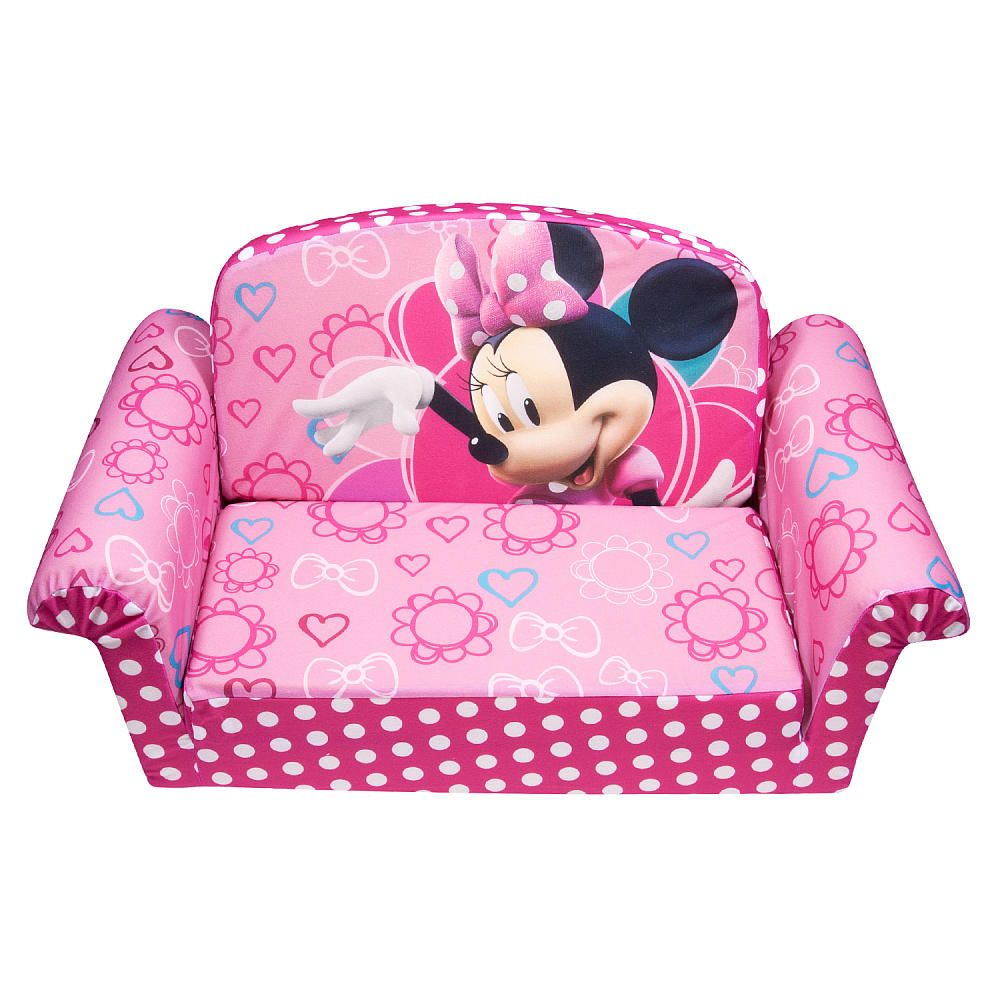 Disney Minnie Mouse Minnie Bow Tique Master Flip Open Sofa Spin
