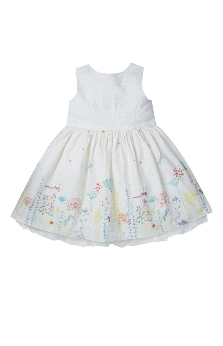 33d228e31 Primark - Vestido estampado bainha branco | To my Princess ...