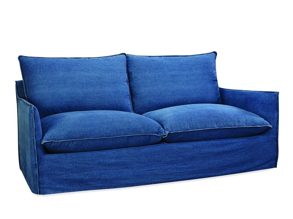 just like your favorite pair of jeans this apartment sofa by lee