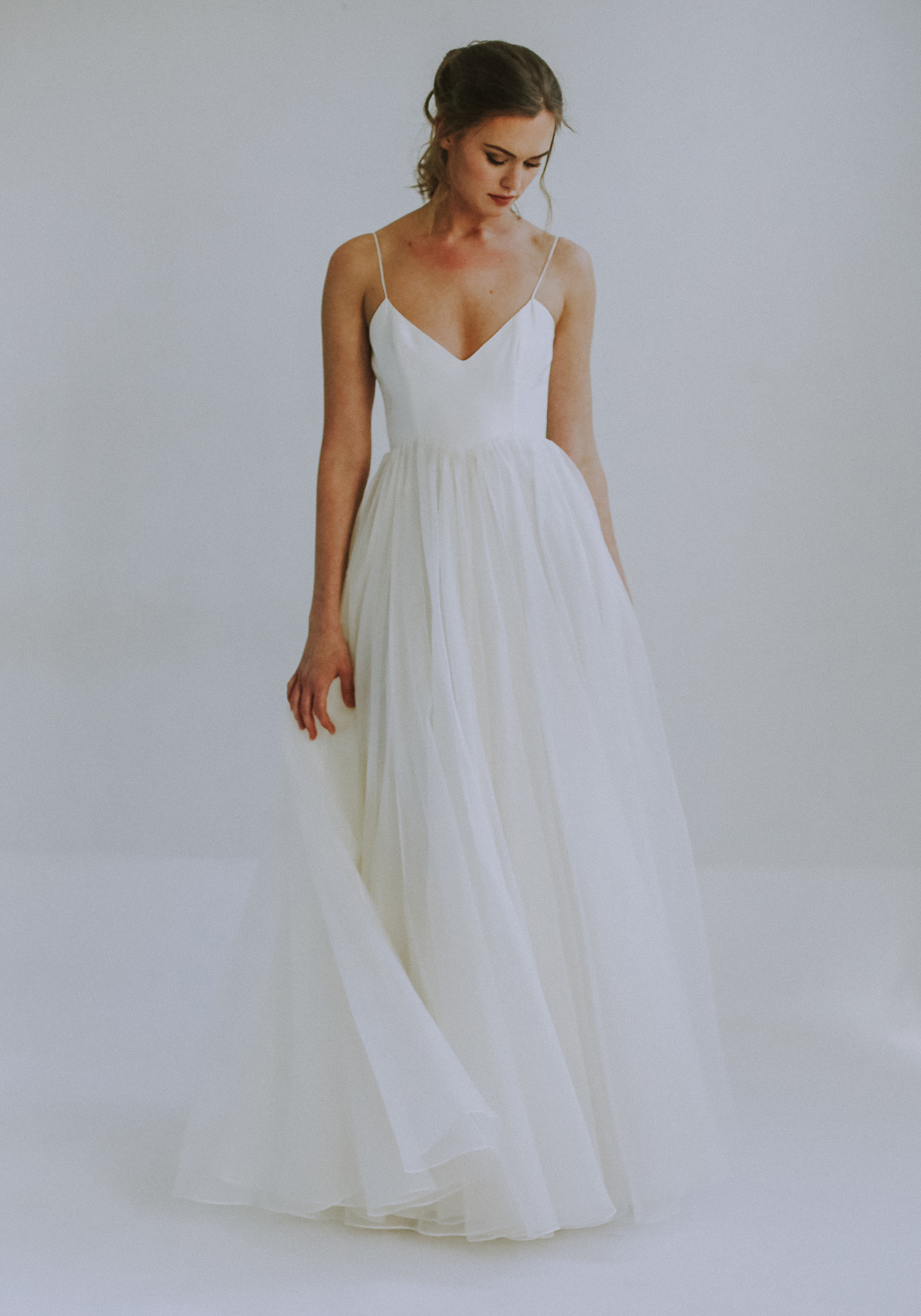 Laurel Leanne Marshall A Line Wedding Dress Wedding Dresses Simple Bridal Gowns