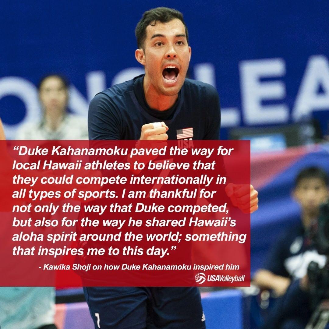 Usa Volleyball On Instagram Beyond His Competitive Inspiration Olympian Duke Kahanamoku Shared Hawaii S Aloha Spirit W In 2020 Usa Volleyball Olympians Aloha Spirit