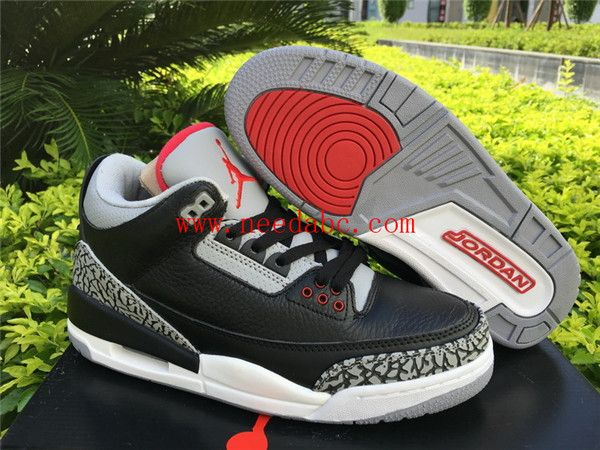 low priced 5f361 5758c ajvii black cement  air jordan 3 retro black cement jordanshoes jordan1  jordan2 jordan3