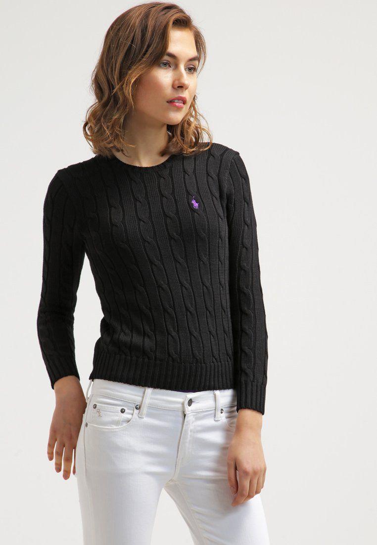 Polo Ralph Lauren JULIANNA Pullover polo black prix promo Pull Femme  Zalando 130.00 € fa7b699a706