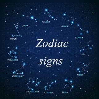 look at the sky and study the signs