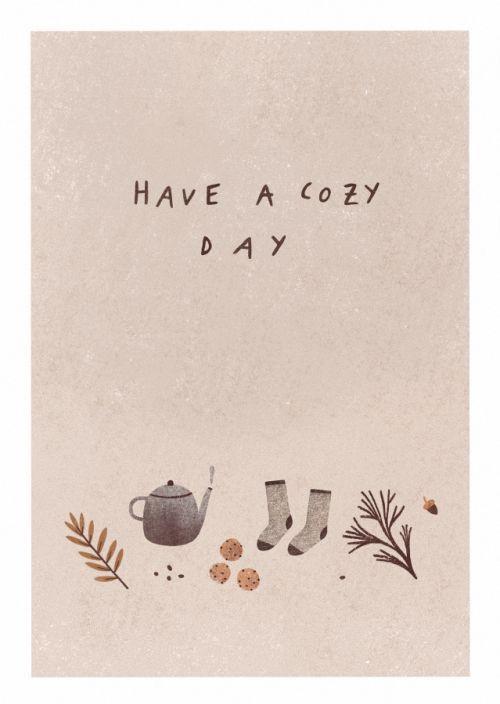Let's get cozy!