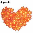 Boao 4 Sets Thanksgiving Decorations Fall Leaf Garland Light Halloween Light ...... ,  #Boao ... #leafgarland