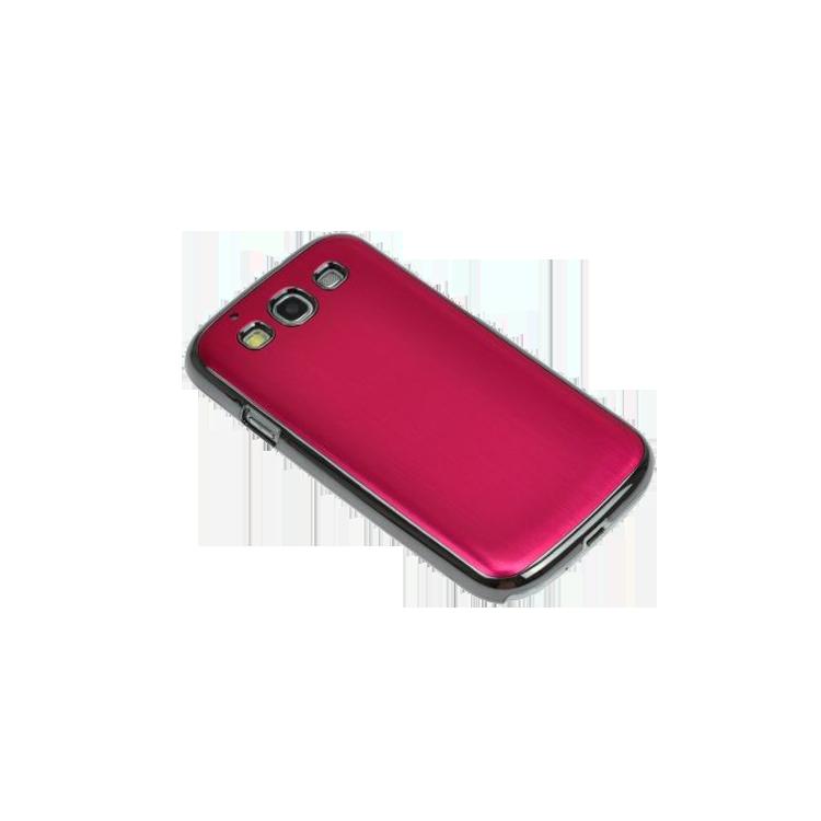 Θήκη metal design για Samsung Galaxy S3 - φούξια
