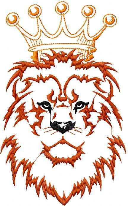 Lion King Free Embroidery Design Cartoon Free Embroidery