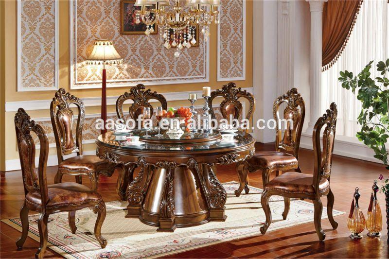 Muebles cl sicos de madera de lujo comedor juego de - Royal design muebles ...