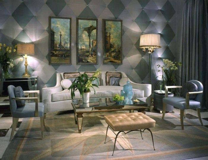 Innendesign Ideen Im Art Deco Stil Lassen Den Raum Edler