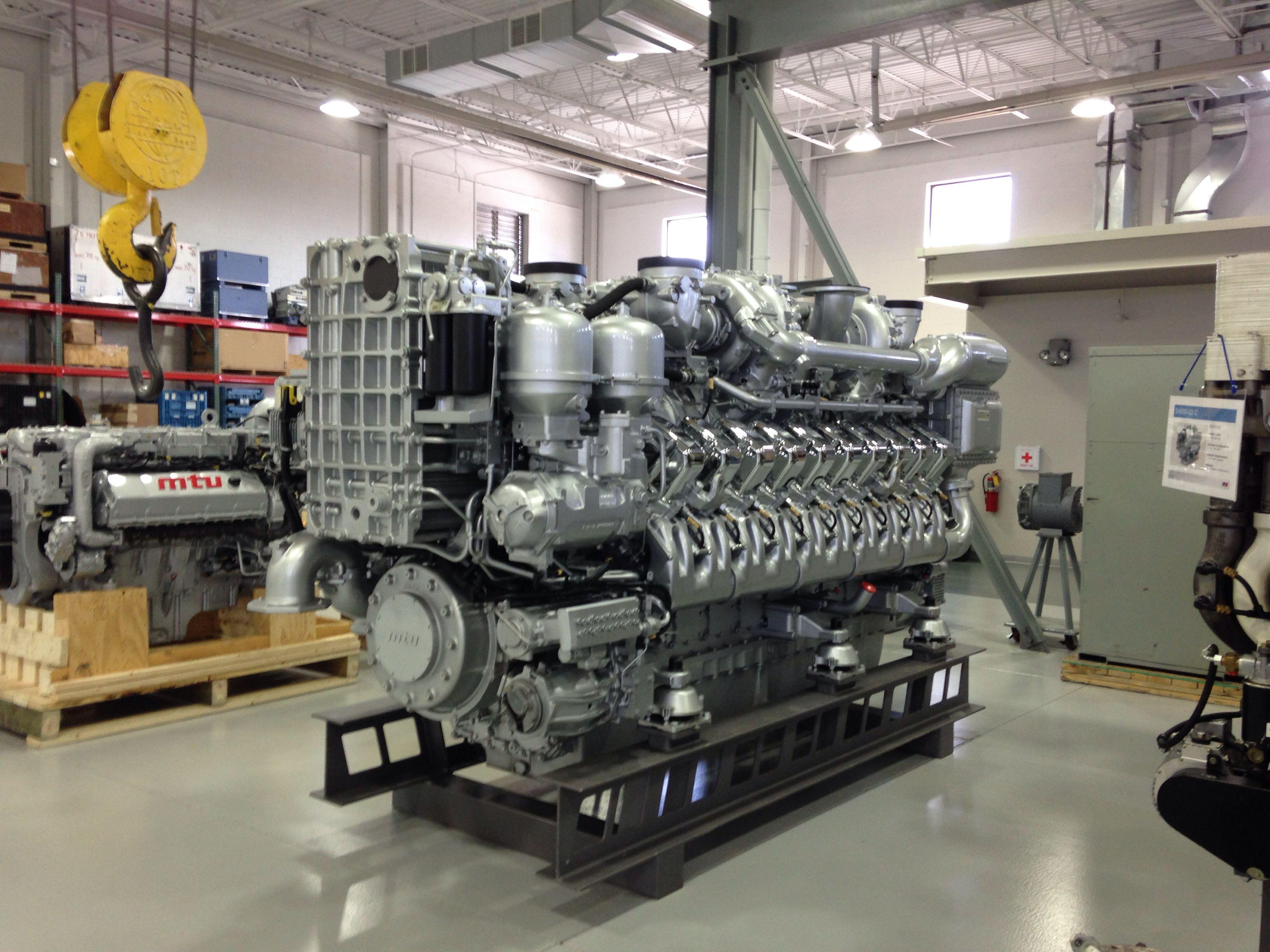 20v4000 show engine dieselyachtsengineeringboats