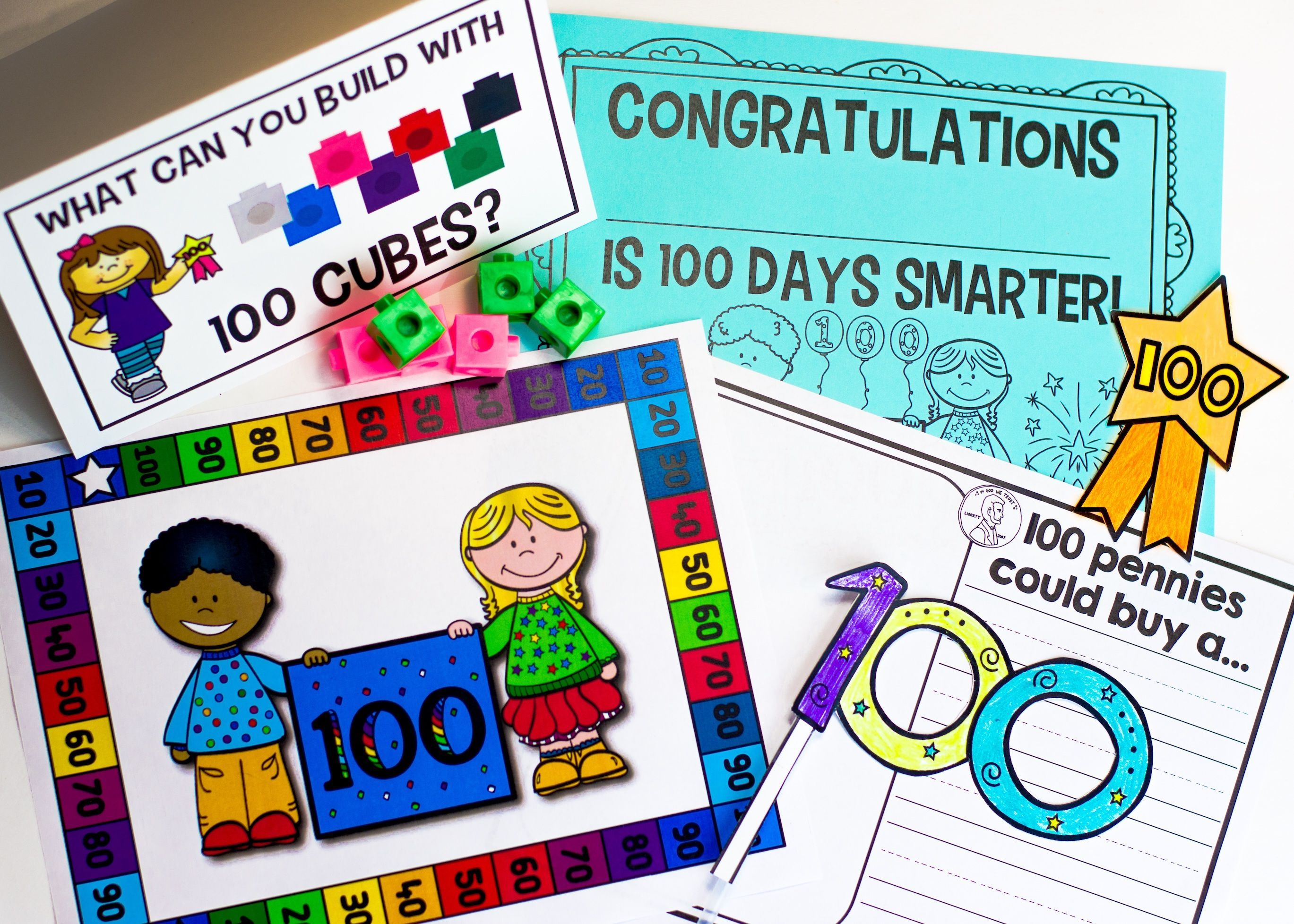 00th Day Of School This Unit Is Full Of 100th Day Fun