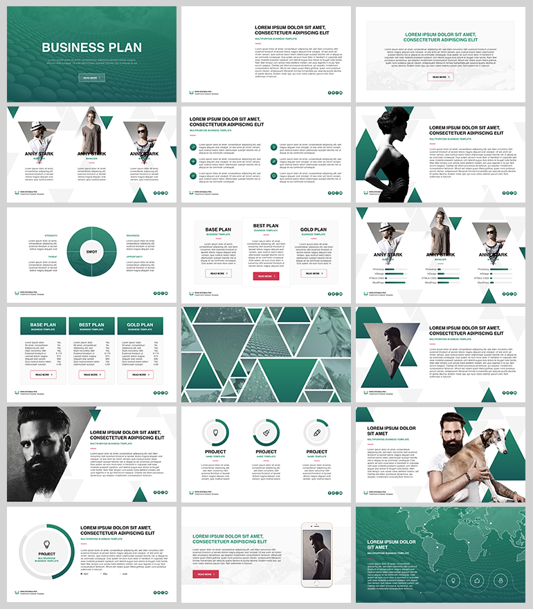 business plan free keynote template. huge base of free keynote, Powerpoint templates