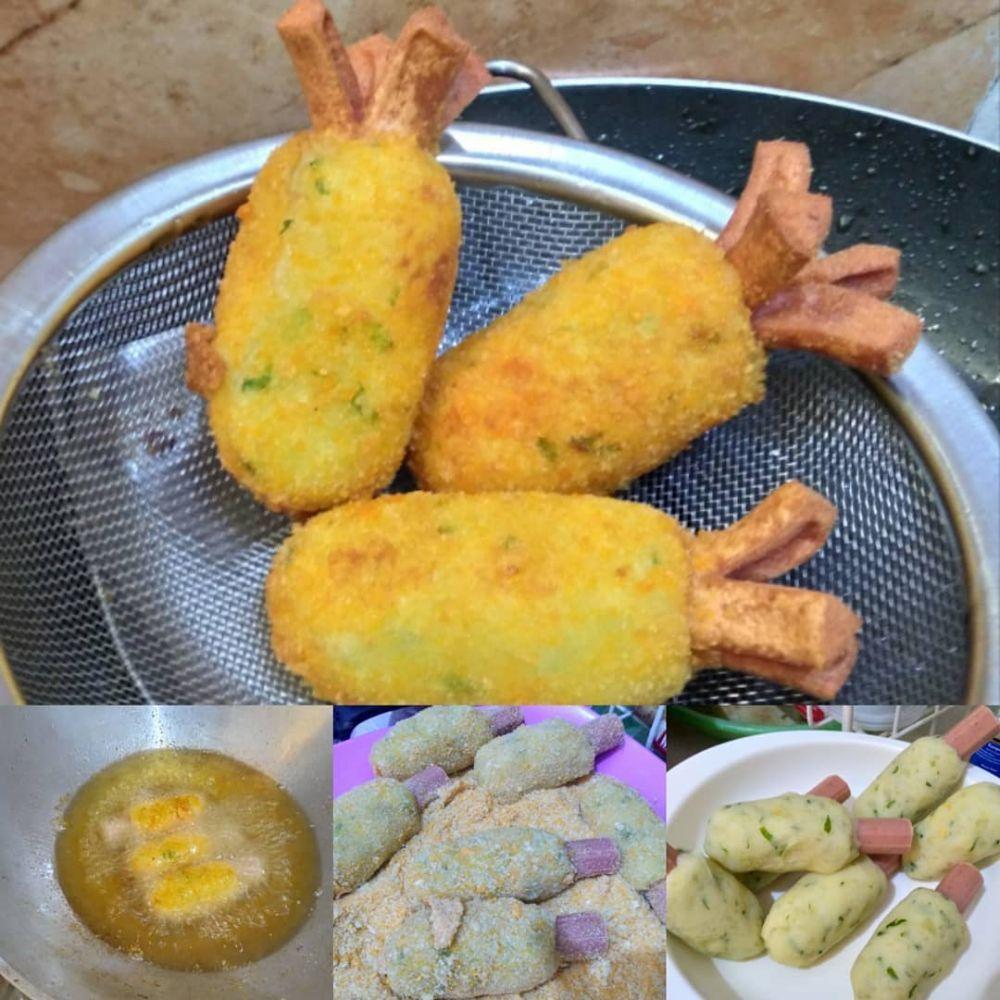 Resep Camilan Kentang Istimewa Ide Makanan Makanan Dan Minuman Makanan Ringan Sehat