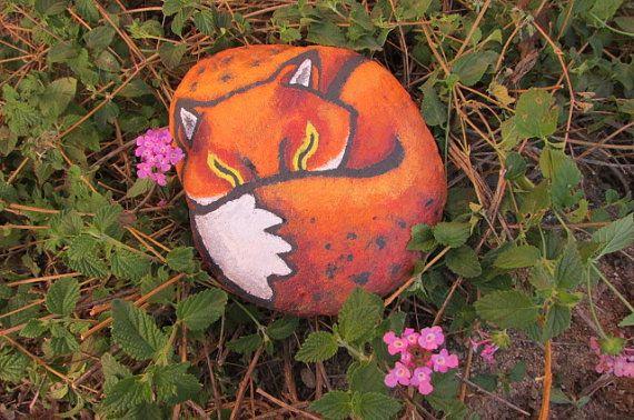Fox Rock art. https://www.etsy.com/listing/171676836/fox-rock-art?ref=listing-shop-header-1