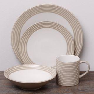Denby Intro Stripes 16-piece Dinnerware Set   Decor ITEMS ...