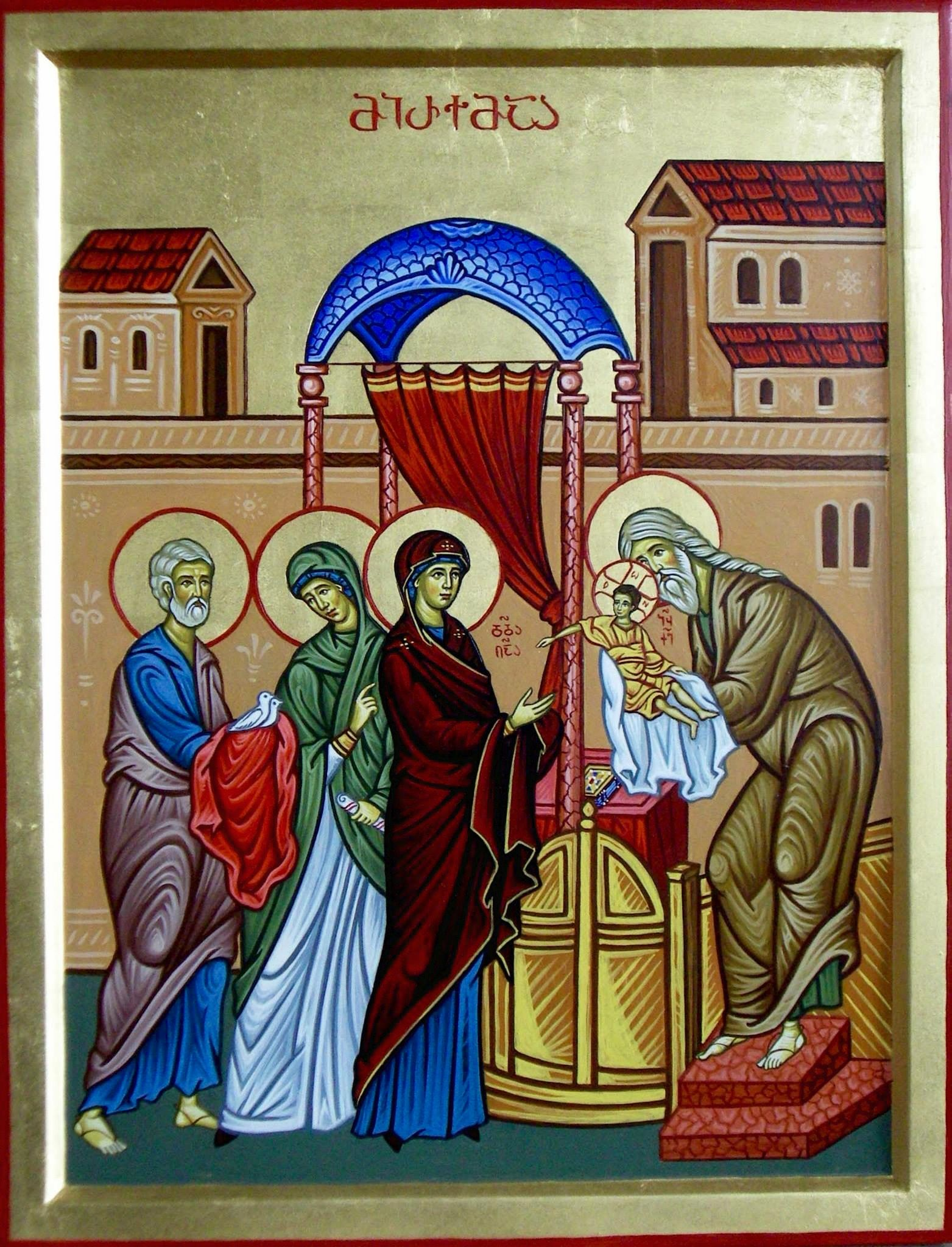 Presentation Of Jesus In The Temple By Shota Tsintsadze